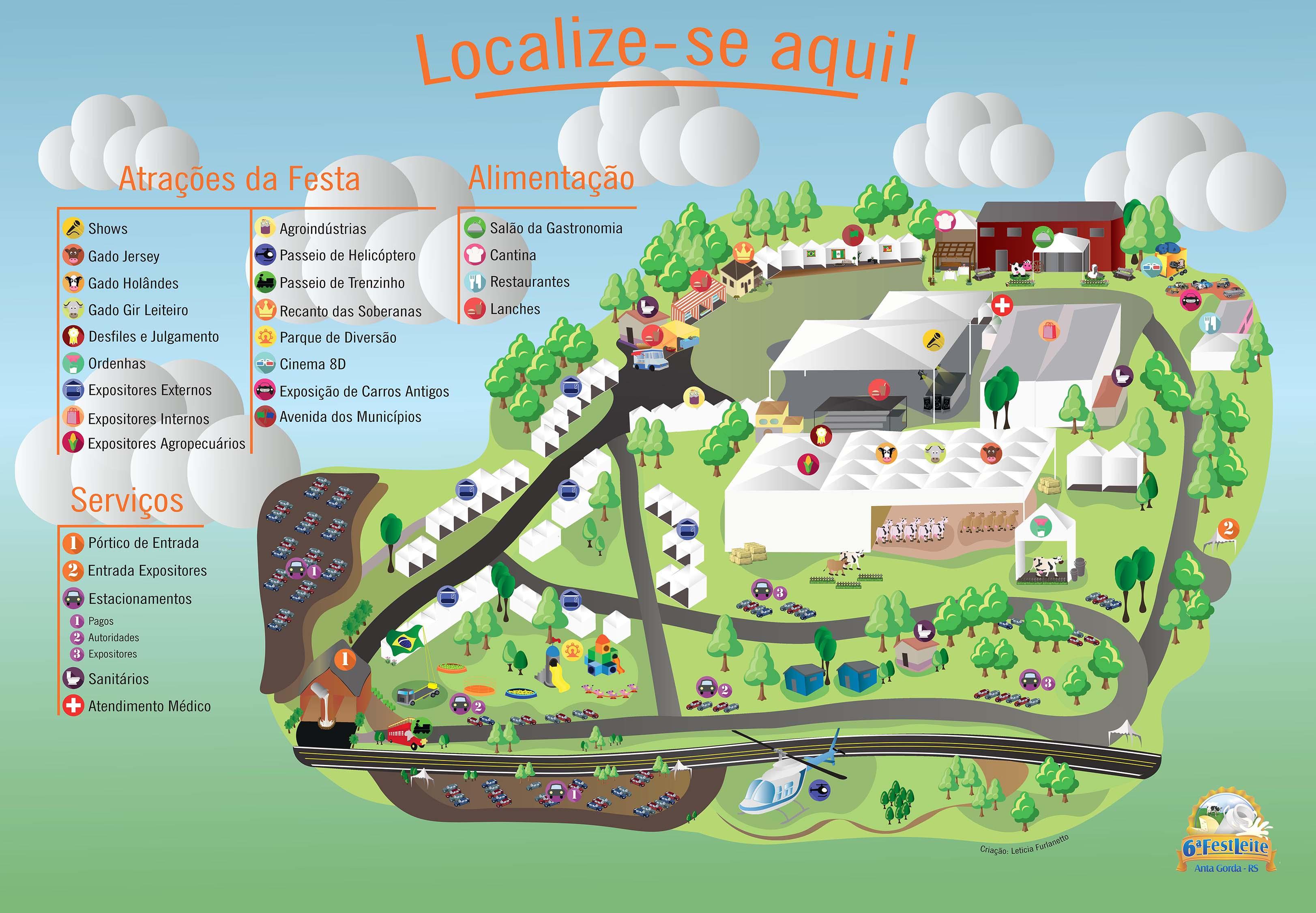 Mapa da feira MENOR