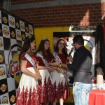 Rádio Cultura FM, na 8ª Festa do Pinhão e 7ª Expofeira, Fontoura Xavier/RS.